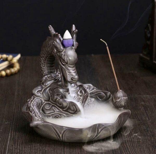 Dragons Head Incense Burner