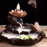 Lotus Backflow Incense Burner