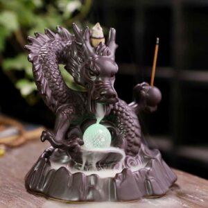 Dragon Backflow Incense Burner Holder