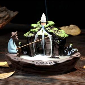 Fisherman Backflow Incense Burner