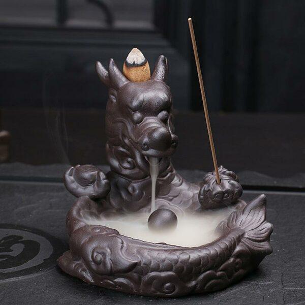 Dragon Head Incense Burner