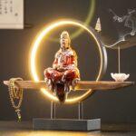 LED Buddha Incense Burner
