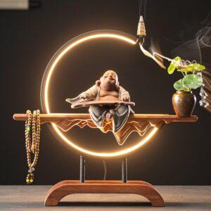buddha statue incense burner
